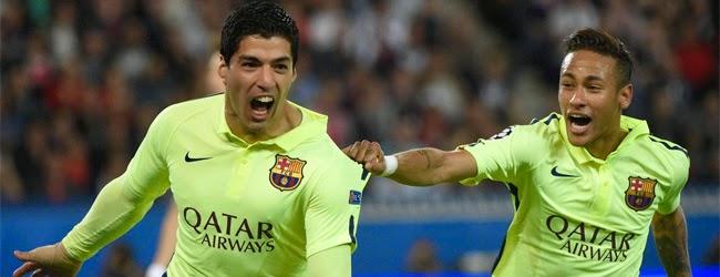 PSG - FC BARCELONA 2015