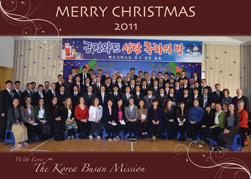 Korea Busan Mission