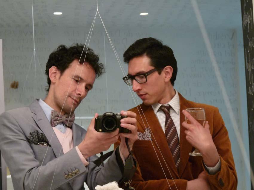 bow ties-jacket-velvet-como-una-aparición