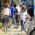 Sidewalk Cycling in Japan