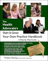 photo of Book Cover Health Advocate Start Business Practice trisha torrey monarae-beads