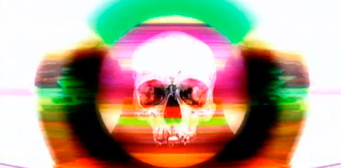 NEGRO DÍA (Kinky&Mala Rodríguez) Skull