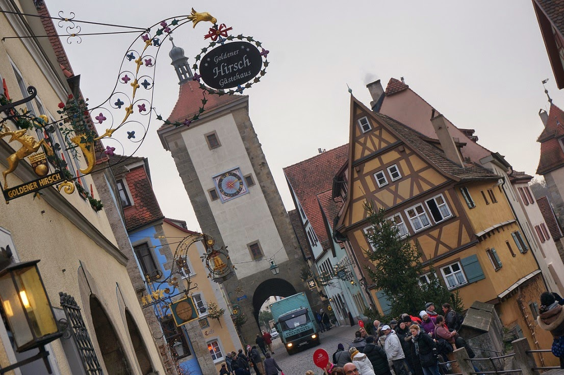 i suspect not a lot has changed in the city which looks much the same as it did centuries ago except for perhaps the number of tourists that flock here - Viking River Cruise Christmas Market