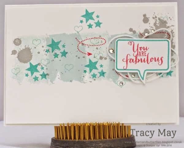 stampin up uk independent demonstrator Tracy May work of art #PLxSU point click