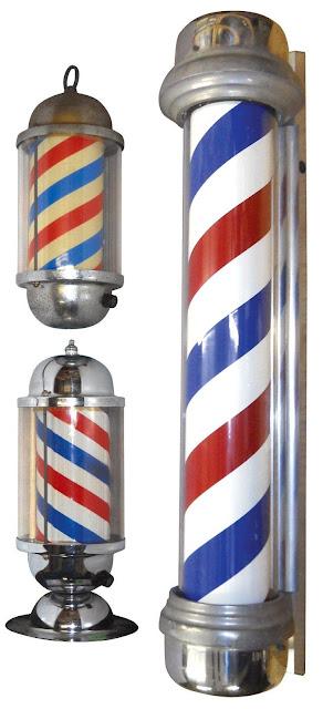Antique Barber Pole6