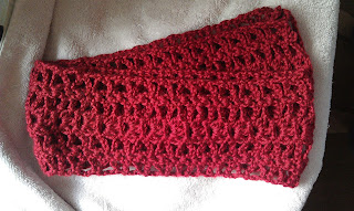 crochet pattern lace scarf
