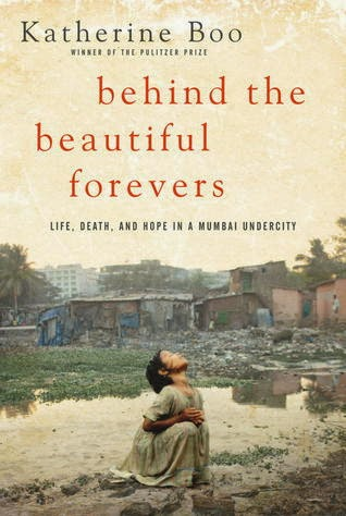 Cover of Behind the Beautiful Forevers by Katherine Boo