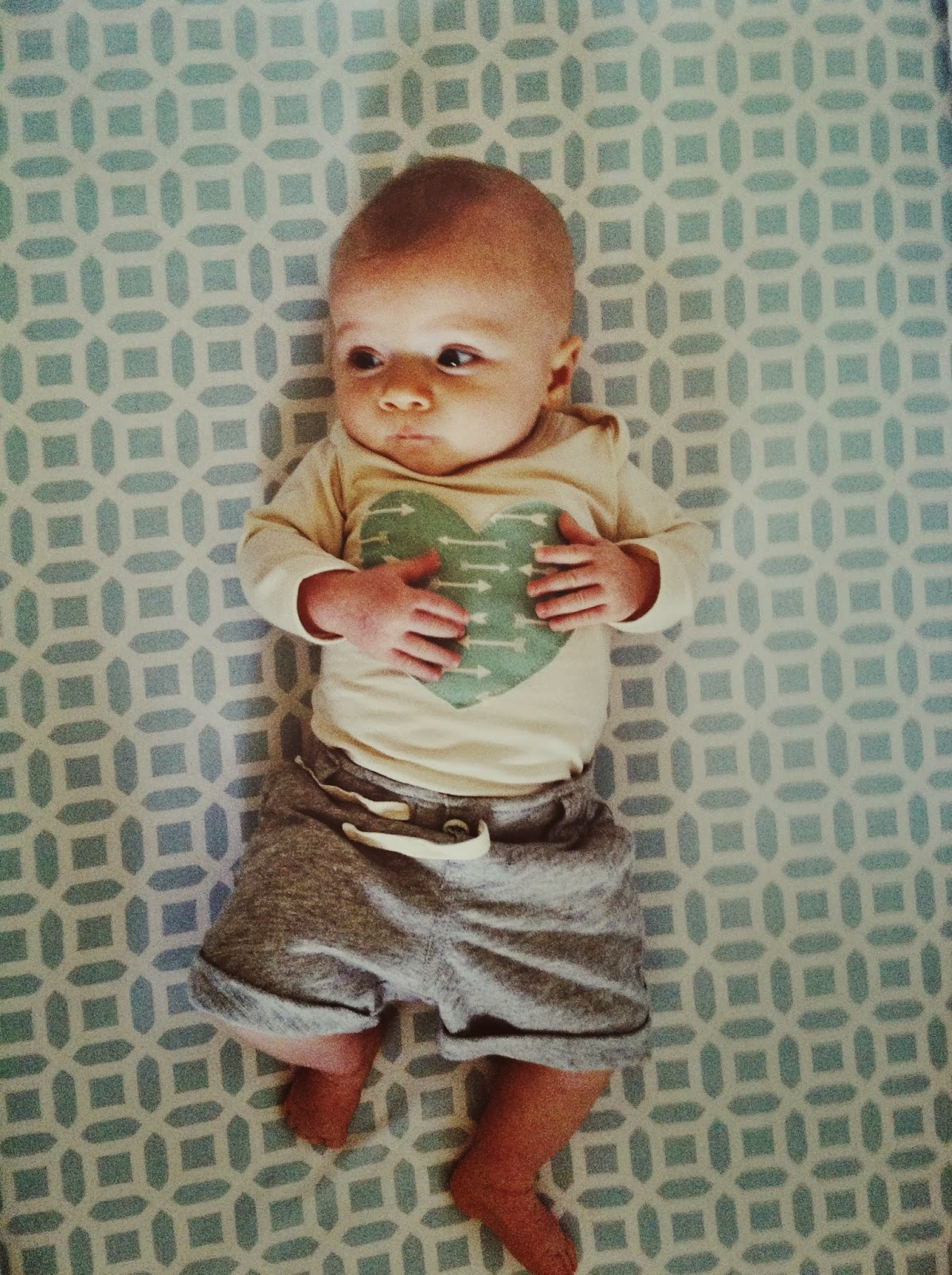 Lucky Palm Tree Baby Clothes