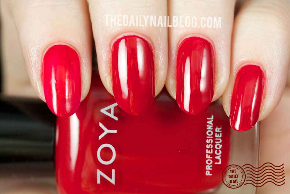 Zoya Cashmere Livingston Swatch Fall 2013