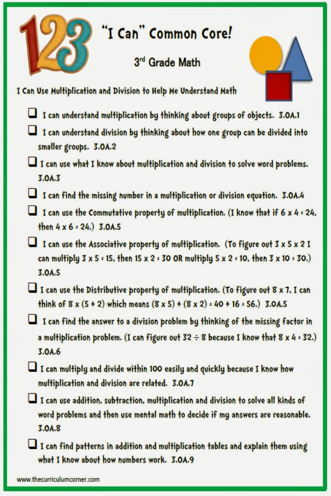Modern Learning 3rd Grade Math Adornment - Math Worksheets Ideas ...