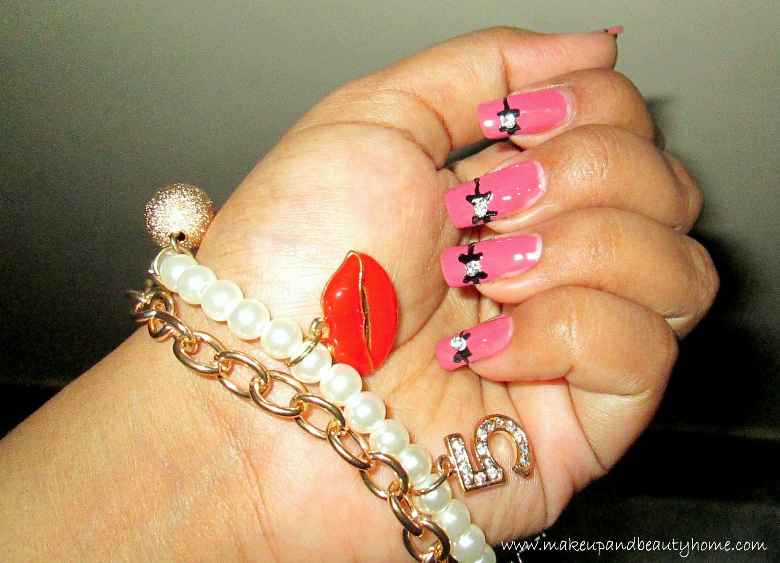 Cute Bow Nail Art Tutorial Do It Yourself