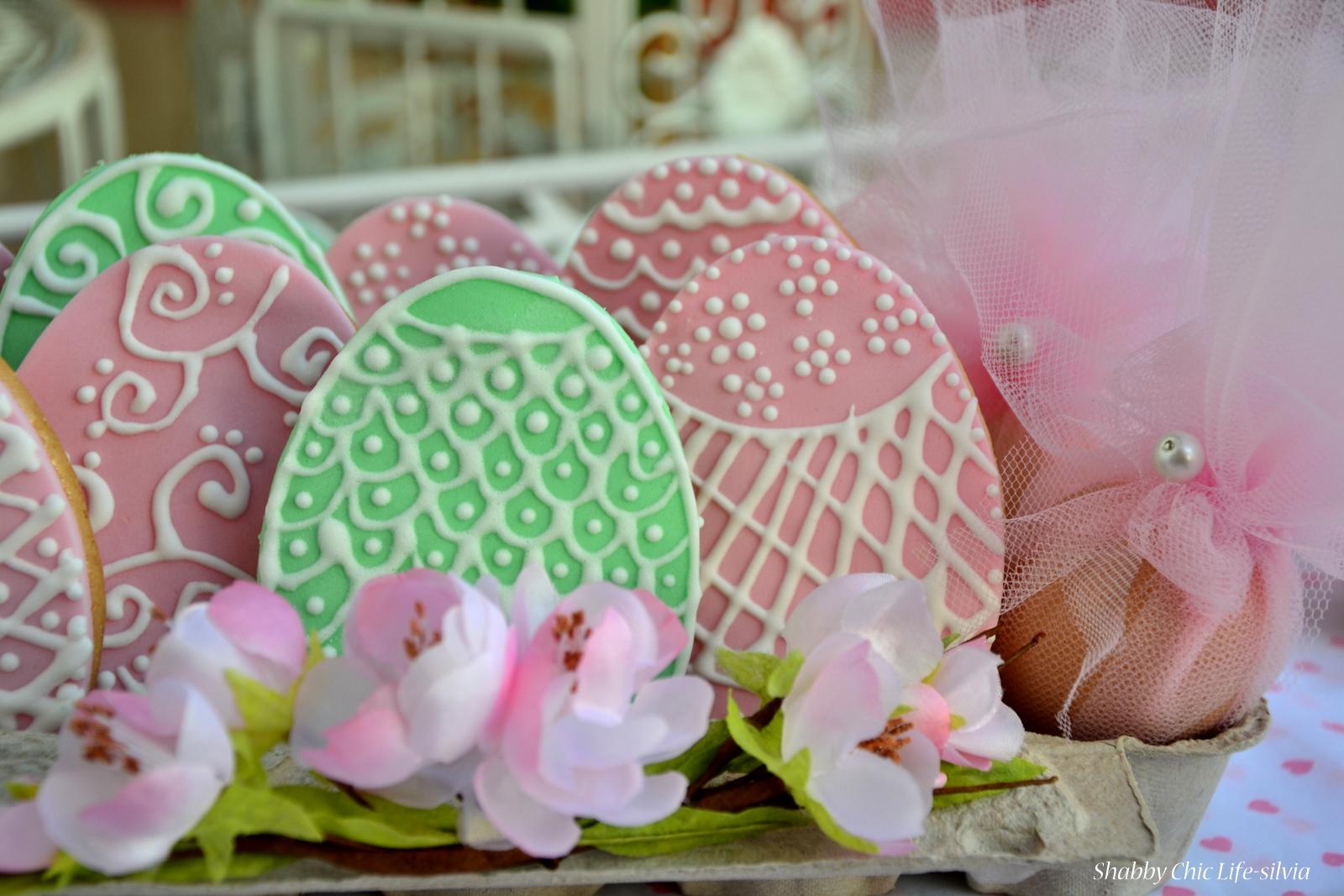 Shabbychiclife festa di primavera uova di pasqua for Decorazioni zucchero a velo