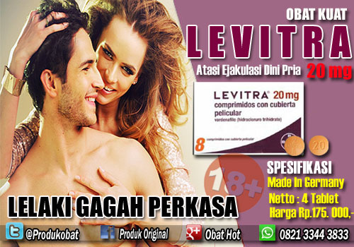 Levitra Obat Kuat yang Berguna Untuk Atasi Ejakulasi Dini Pria.