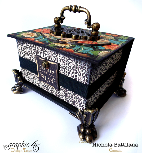 Artisan Style Altered ATC Box - Nichola Battilana