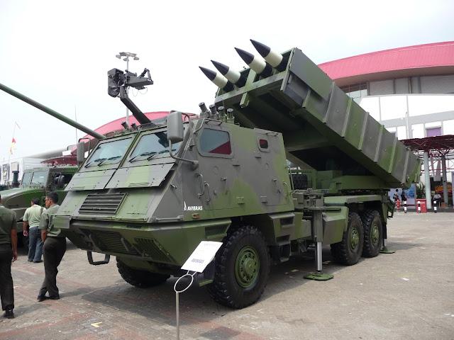 Lanzacohetes de los Ejércitos Sudamericanos
