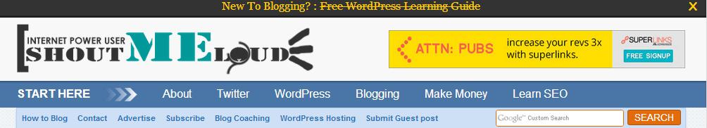 blog on blogging