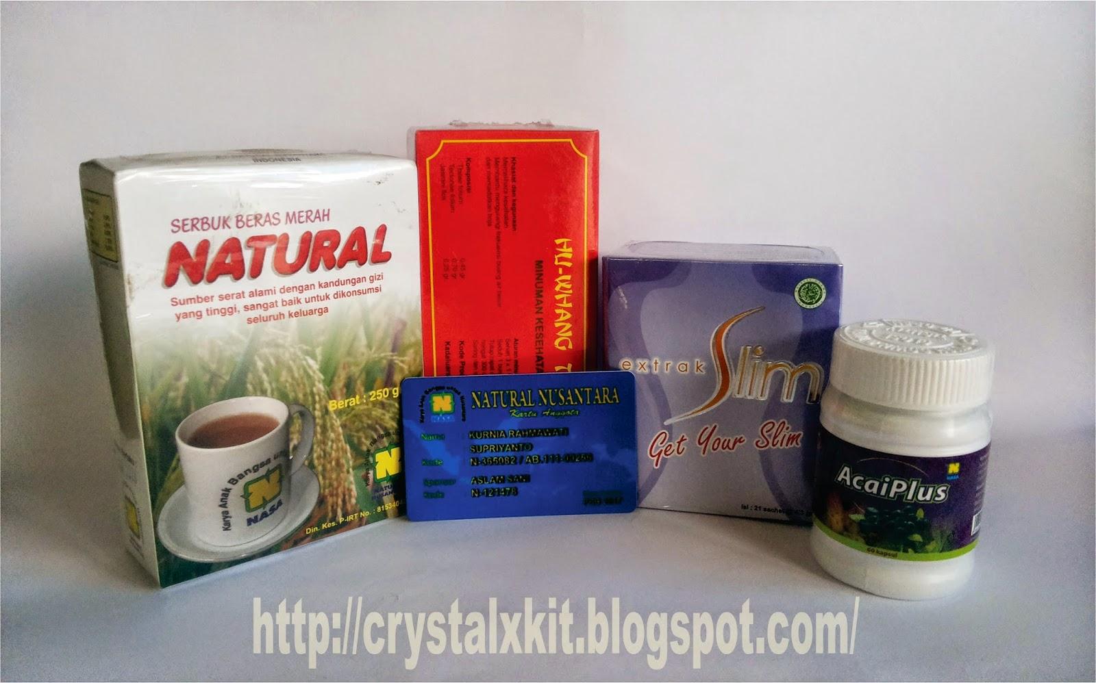 acaiplus ekstrak slim huang tea natural beras merah