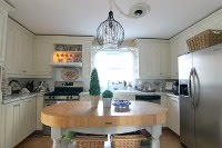 Kitchen Chalk Paint Makeover