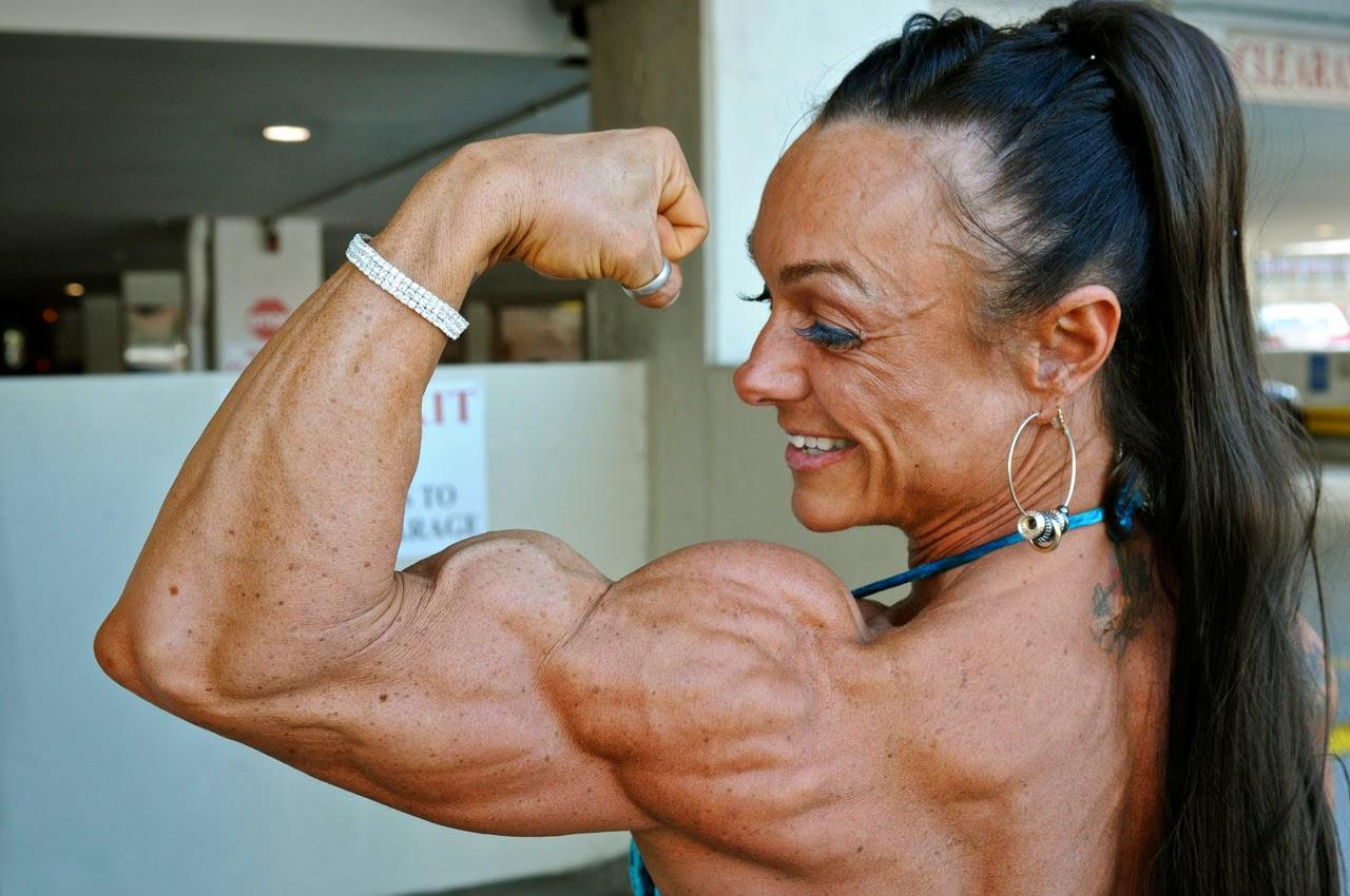 Самые накаченные девушки украины, Как выглядит самая мускулистая девушка в мире 2 фотография