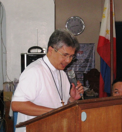 Most Rev. Bishop Reynaldo Evangelista, Diocese of Boac
