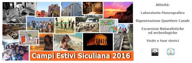 Aperte le Iscrizioni ai Campi Estivi 2016: vacanze di volontariato per il Museo #MeTe