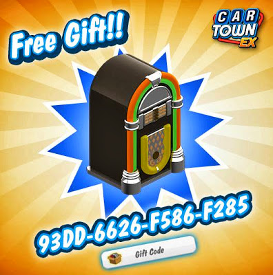 Car+Town+EX+Gift+Code+Updated+Jukebox
