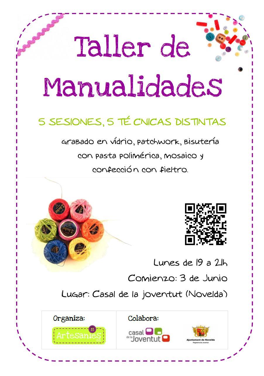 Taller de manualidades casal de la juventud - Talleres manualidades para adultos ...
