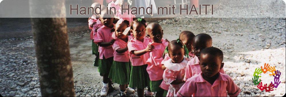 Hand in Hand mit Haiti