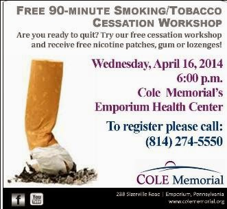 4-16 Free Smoking/Tobacco Cessation