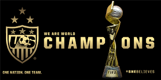 champions, USA, USA Women's Soccer Team, World Cup