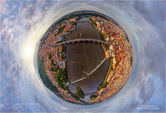 AirPano Planets, fotografías panorámicas 360º, Praga