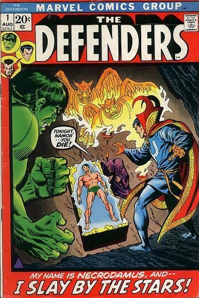 Portada de The Defenders Vol.1 #1
