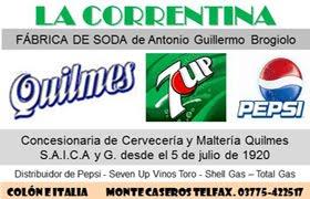 Sodas La Correntina