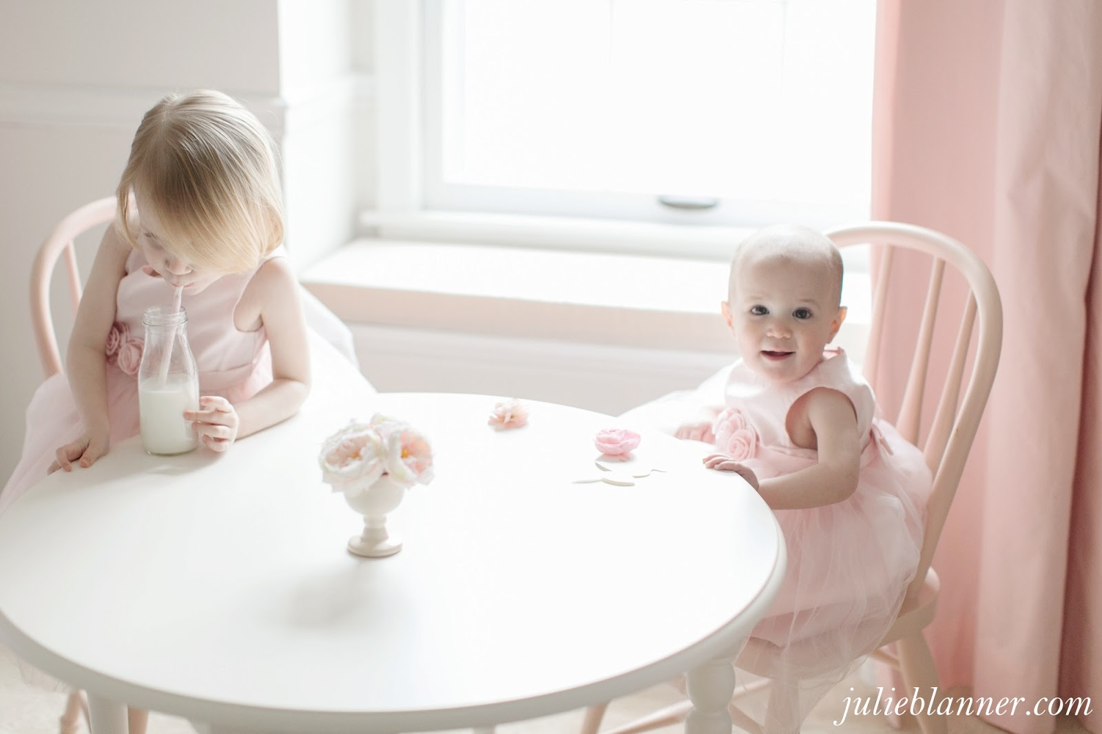 Adalyn's Pink and Cream Bedroom - Coordinately Yours by Julie