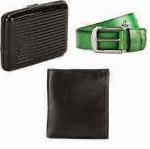 Get Flat 90% off on Mango People Men's Leather Wallets: Buytoearn