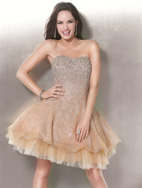 2013 Sequined Prom Dresses