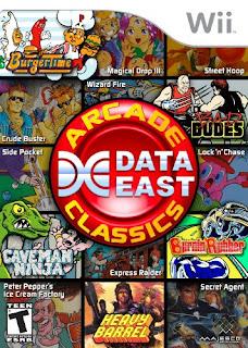 Data East Arcade Classics Wii