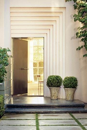 Paisagismo na entrada de casa aninteriores - Entradas para casas ...