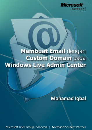 Membuat Email dengan Custom Domain pada Windows Live Admin Center