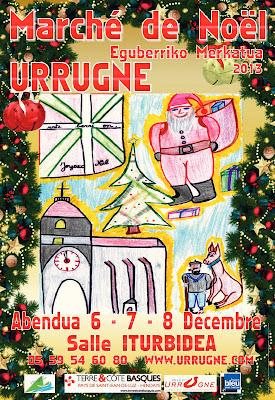 marché de noël 2013 à Urrugne