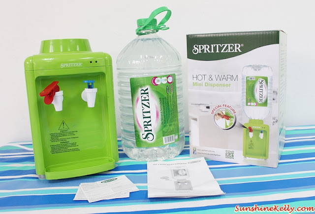 Spritzer Dispenser & Bigger Pack Review & Giveaway, Spritzer Hot & Warm Mini Dispenser, Spritzer Bigger Pack Review, Spritzer Giveaway, Spritzer Natural Mineral Water