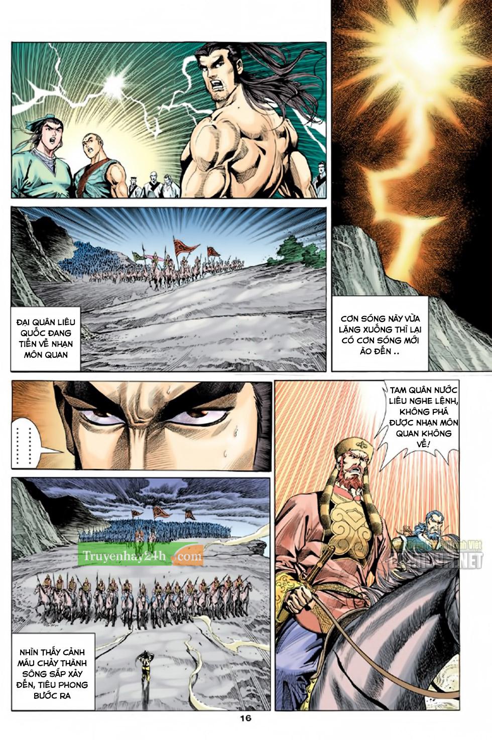Thiên Long Bát Bộ chap 100 - Trang 17