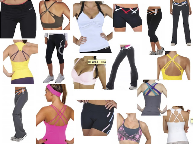Style Athletics Bia Brazil USA Workout CLothes Fitness AThletic Apparel Tank Top Sports BRa Pants