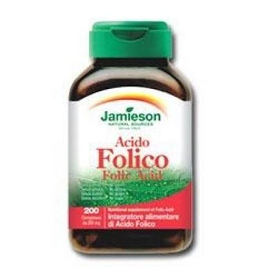 Jamieson Acido Folico, per la prevenzione cardiovascolare