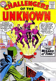 DC Comics Challengers of the Unknown (Retadores de los Desconocido)