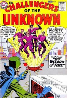 DC Comics Challengers of the Unknown (Retadores de los Desconocido)
