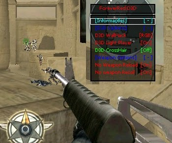 CrossFire Latin Hile D3D Wallhack Men Yeni Versiyon indir