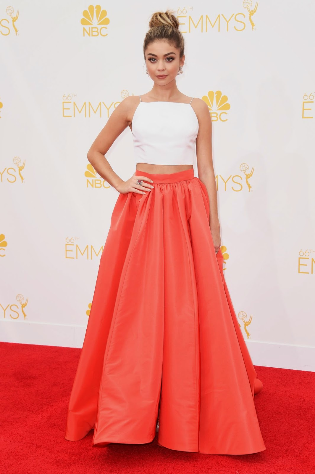 Sarah Hyland – 2014 Primetime Emmy Awards in Los Angeles