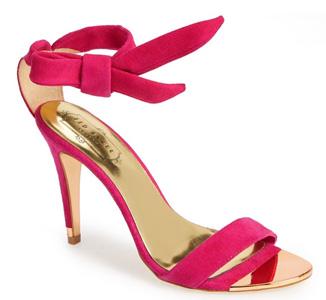 ted baker pink sandals
