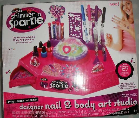 Madhouse Family Reviews Cra Z Art Shimmer N Sparkle Designer Nail